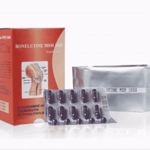 Bonelutine MSM 1650 – Phục hồi và cải thiện chức năng xương khớp, sụn khớp và dây chằng.