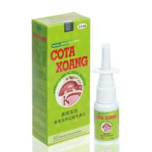 COTAXOANG XỊT – Hỗ trợ sát khuẩn, kháng viêm, phòng ngừa và làm giảm các triệu chứng sổ mũi, ngạt mũi, viêm VA, viêm xoang và viêm mũi dị ứng