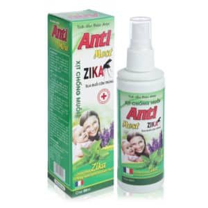 Xịt chống muỗi Antimost – Bảo vệ da khỏi muỗi đốt, côn trùng cắn.