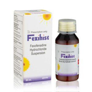 Thuốc Fexihist 60 ml hỗn dịch uống – Điều trị viêm mũi dị ứng, mề đay